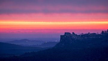 Sonnenaufgang - Burg Regenstein