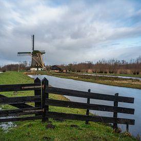 Mühle de Onrust Muiderberg von Bart Hendrix