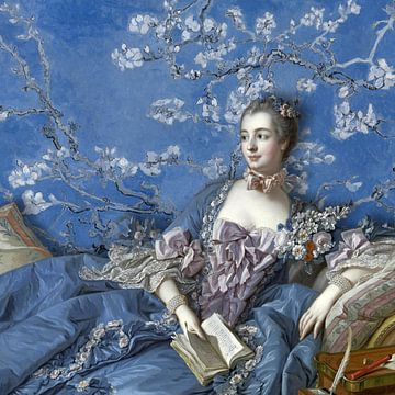 Madame de Pompadour sur Marja van den Hurk