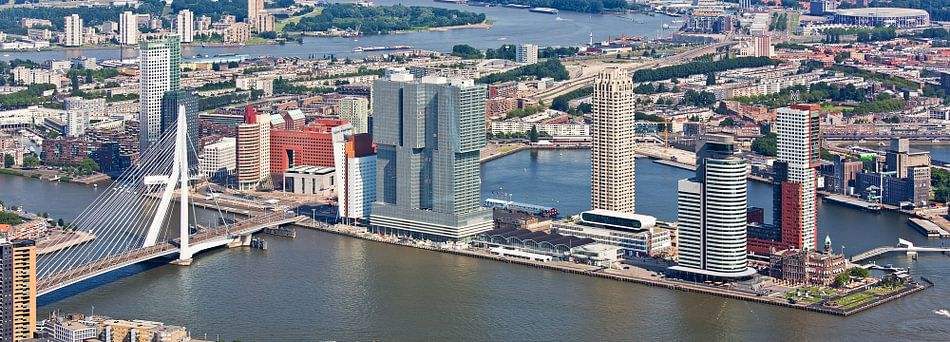 Luchtfoto panorama Wilhelminapier