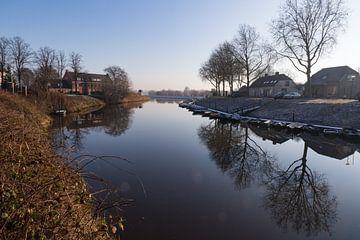 Verstild waterlandschap van Rick Crauwels