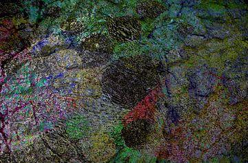 Mosaik abstrakt von Peter Norden