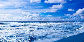 Nordsee blau von Jörg Hausmann