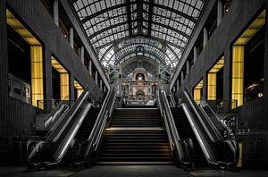 Treinstation Antwerpen - Belgie