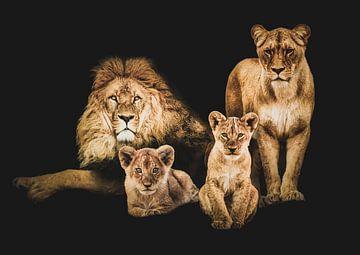 Trots als een leeuw van John van den Heuvel