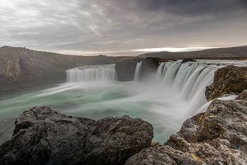 Godafoss IJsland van Thomas Paardekooper