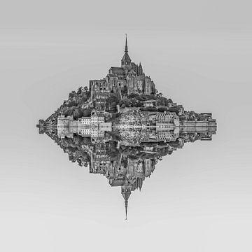Le Mont Saint Michel van