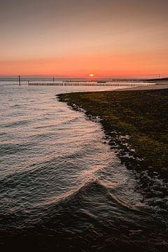 Dijk Westkapelle zonsondergang von Andy Troy