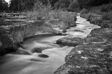 Wasserfluss in Frankreich von Etienne Rijsdijk