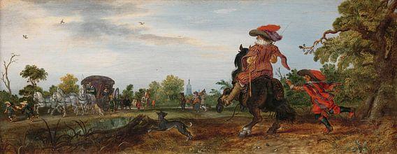 Zomer, Adriaen Pietersz. van de Venne