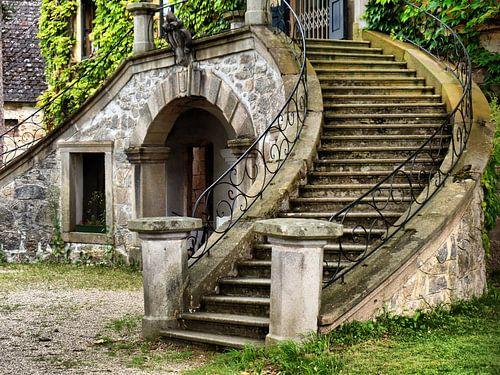 Schlosstreppe  van