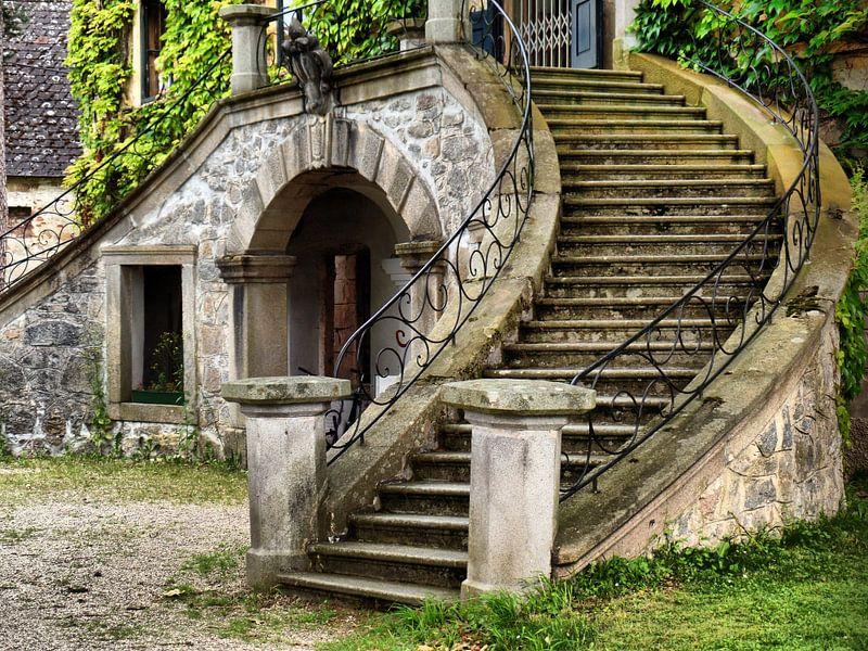 Schlosstreppe  von Ilona Picha-Höberth