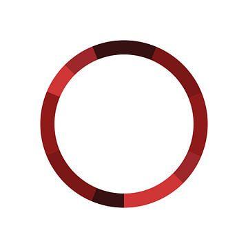 Monochromatique Couleur Rouge sur Michelle van Seters