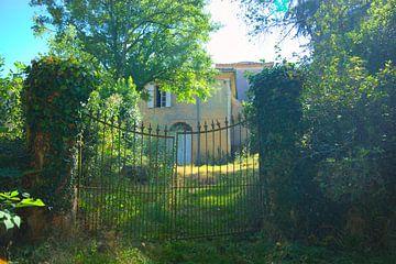 Château en Midi-Pyrenees France avec clôture sur Natasja Tollenaar