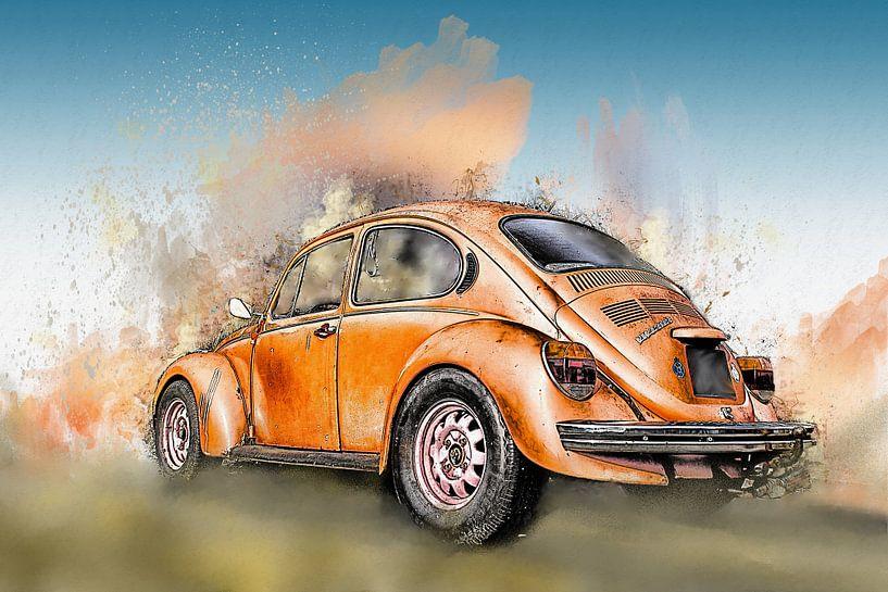 Oude VW Kever van Harry Stok
