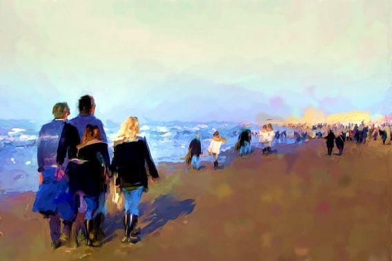 Ein Sonntag am Strand