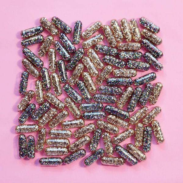 Vitamine G - Glitters // Roze // Goud // Regenboog van Nikki Segers