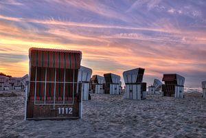 Strandkörbe van