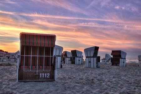 Strandkörbe