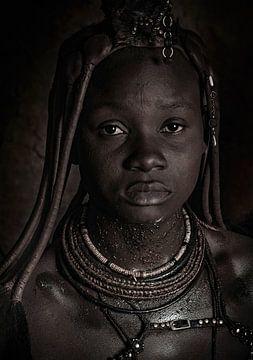 Princesse de Kaokoland sur Joris Pannemans - Loris Photography