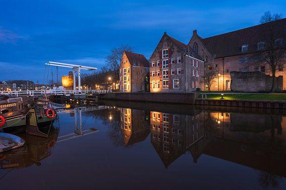 Thorbecke Gracht Blue Hour