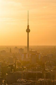 Berliner Fernsehturm von Robin Oelschlegel