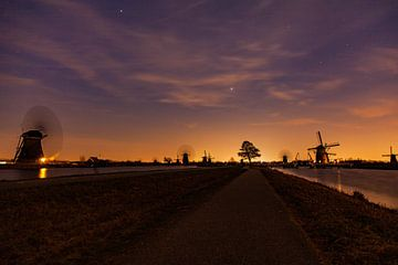 Sonnenuntergang bei Kinderdijk von Hartsema fotografie