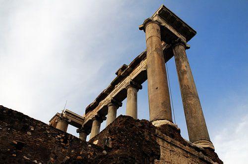 Ruins of the Temple of Saturn von Wim Stolwerk