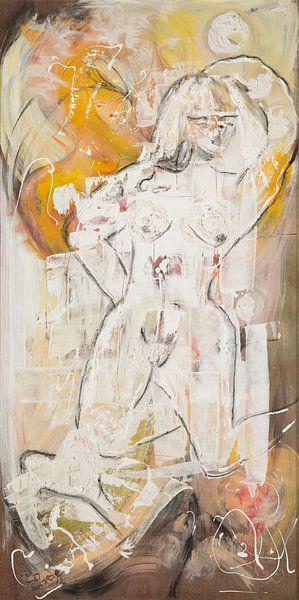 Nacktes Mädchen von Carmen Eisele