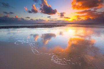 Reflections in the North Sea von Mark Scheper