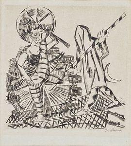 Die Seiltänzer, Max Beckmann, 1921