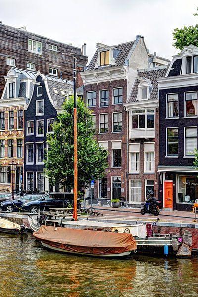 Binnenstad van Amsterdam Nederland van Hendrik-Jan Kornelis