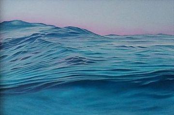 Rustige Golven van Ronald Boon