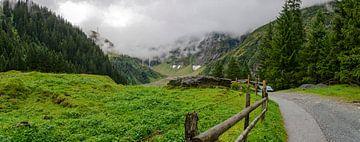 Weg ins Felber Tal von Leopold Brix