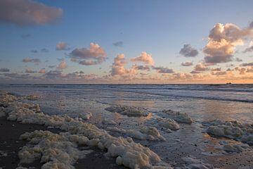 Meer bei Sonnenuntergang von Barbara Brolsma