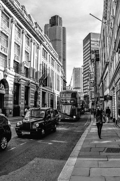 Straat in Londen van Esmee Pols