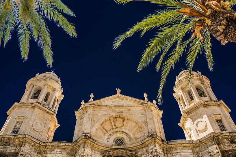 Kathedraal van Cadiz van Harrie Muis