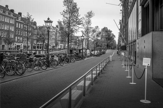 Prinsengracht - Anne Frankhuis van Hugo Lingeman