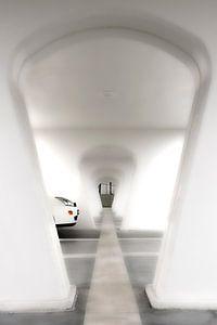 White ending tunnel
