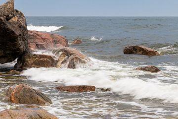 Ostsee in der Region Hornslandet in Ostschweden von Henk Hulshof