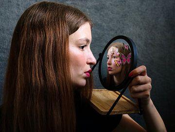 Miroir sur Sarah De Weger