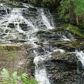 Plodda Watervallen van Babetts Bildergalerie