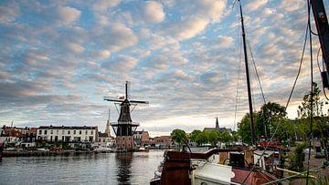 Die Adriaan-Windmühle in Haarlem von Arjen Schippers