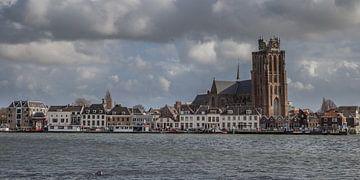 Dordrecht rivierzicht 1 van John Ouwens