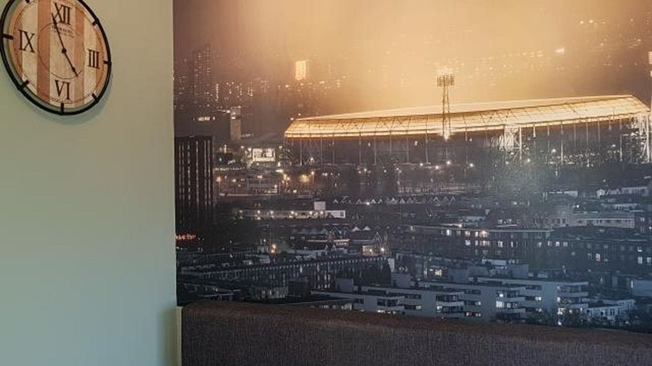 Klantfoto: De Kuip als baken in de stad van Jeroen van Dam