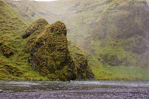 Natuur bij Skogar