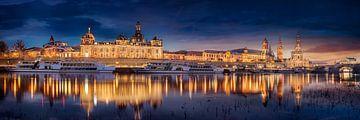Dresden Skyline Panorama von Voss Fine Art Photography