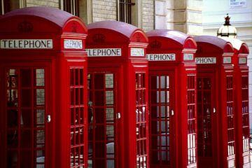 Serie Londense telefooncellen van