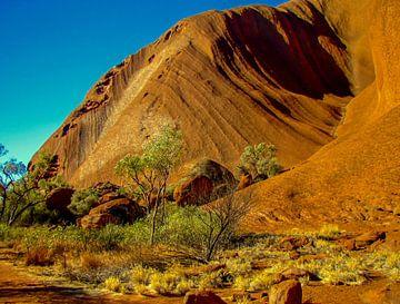 Uluru of Ayers rock, Australië van Rietje Bulthuis