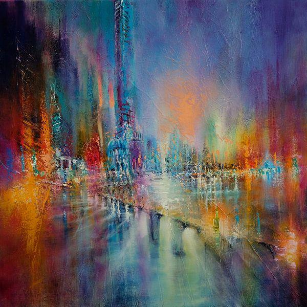 Lichter in der Stadt von Annette Schmucker
